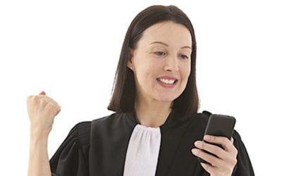Finger weg vom Handy – Besorgnis der Befangenheit