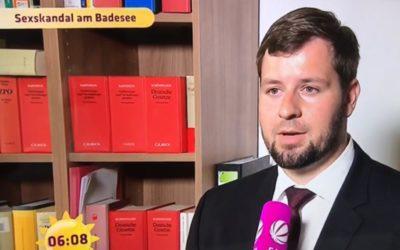 Anklage oder Vorladung wegen Sex in der Öffentlichkeit – Interview für RTL